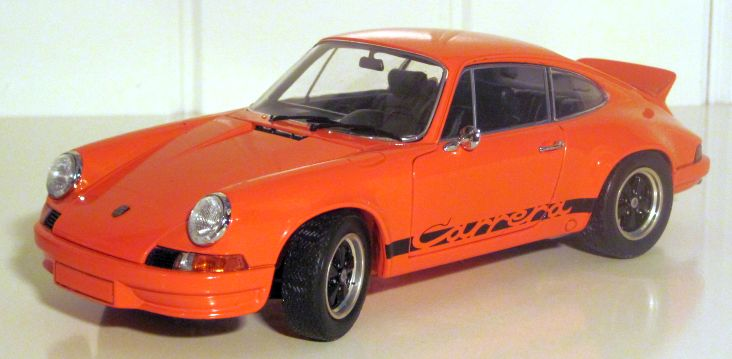 Ebbro 1973 911 RS 2.7 Orange 1:24